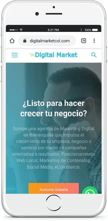 Diseño web Barranquilla WordPress
